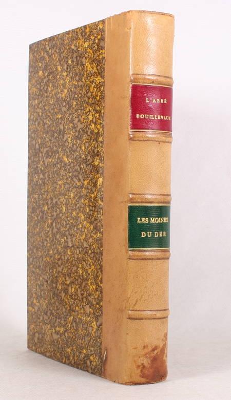 BOUILLEVAUX( Les moines du Der avec pièces justificatives, notes et sur le 1845 - Photo 0 - livre romantique