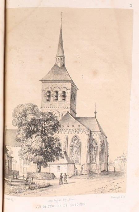 BOUILLEVAUX( Les moines du Der avec pièces justificatives, notes et sur le 1845 - Photo 1 - livre romantique