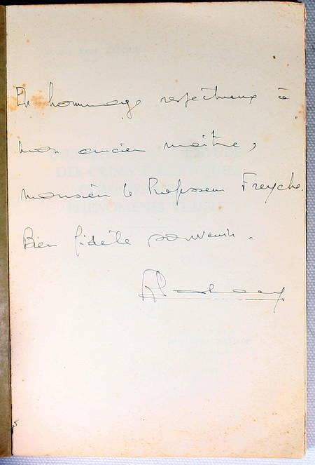 LALOUE (Docteur René). Contribution à l'étude des crises épileptiques comportant des phénomènes visuels, livre rare du XXe siècle