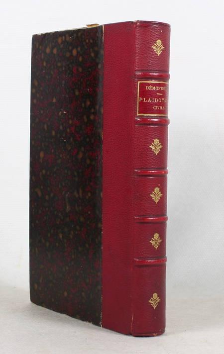 DEMOSTHENE. Demosthenis orationes ex recensione Guilielmi Dindorfii. V. III : Orationes XLI-XLI : Prooemia - Epistolae [Suivi de :] Orationes LVI-LXI