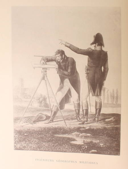 Berthaut - Les ingénieurs géographes militaires. 1624-1831. Etude historique - Photo 1 - livre de bibliophilie