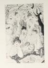 MAUPASSANT - La maison Tellier - 1951 - Pointes sèches de Grau Sala - Photo 0, livre rare du XXe siècle