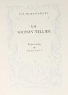 MAUPASSANT - La maison Tellier - 1951 - Pointes sèches de Grau Sala - Photo 3, livre rare du XXe siècle