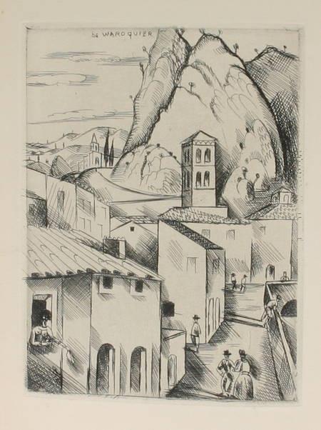 ARNOUX - Haute-Provence. Géographie sentimentale 1926 Frontispice de Waroquier - Photo 0 - livre d'occasion