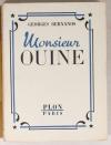 BERNANOS (Georges) - Monsieur Ouine - 1946 - Frontispice de Pierre Collot - Photo 1 - livre de collection