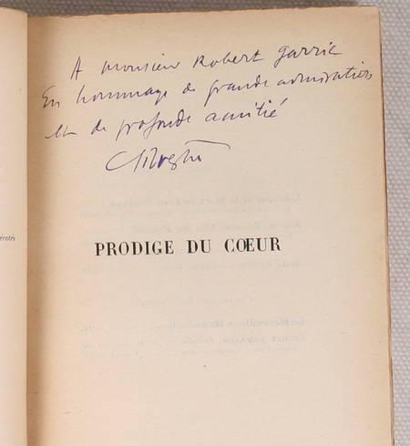 SILVESTRE (Charles) - Prodige du coeur - 1926 - Envoi de l'auteur - Photo 0 - livre du XXe siècle