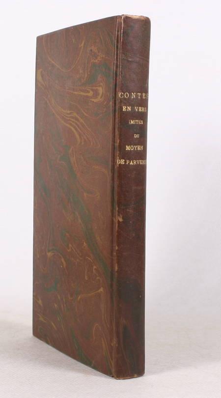Contes en vers imités du moyen de parvenir - Willem 1874 - Photo 1, livre rare du XIXe siècle