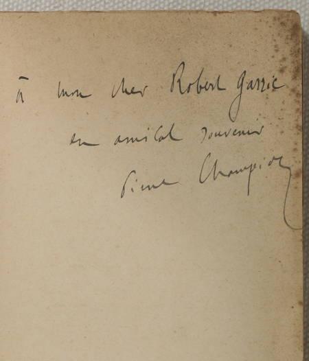 [Paris] CHAMPION - Splendeurs et misères de Paris (14e-15e) 1934 - Plan - Envoi - Photo 0 - livre de collection