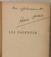 Pierre HENRI-SIMON - Les Valentin - 1931 - EO - Envoi - Photo 0 - livre rare