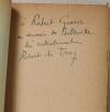 DE TRAZ - L écorché. Roman - 1927 - Dédicace - Photo 0, livre rare du XXe siècle
