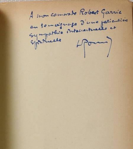 ROMIER (Lucien). Explication de notre temps, livre rare du XXe siècle