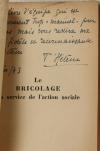 T HELENE - Le bricolage au service de l action sociale - 1943 - Envoi - Photo 0, livre rare du XXe siècle