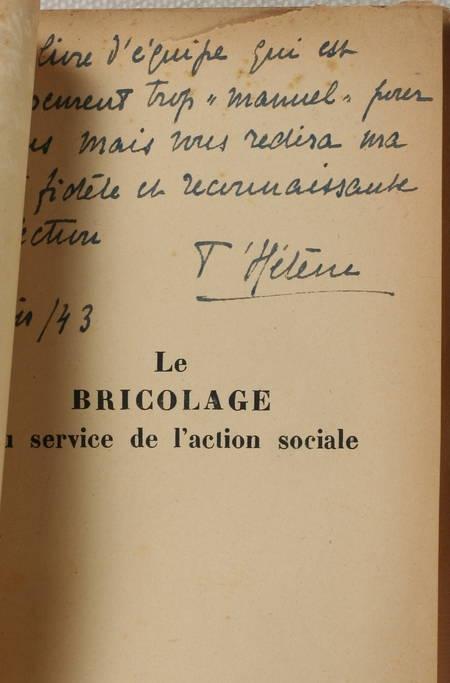 T'HELENE et ses amies. Le bricolage au service de l'action sociale. Petits travaux manuels, livre rare du XXe siècle