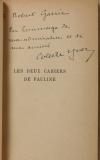 Colette YVER - Les deux cahiers de Pauline - 1934 - Dédicace - Photo 0, livre rare du XXe siècle