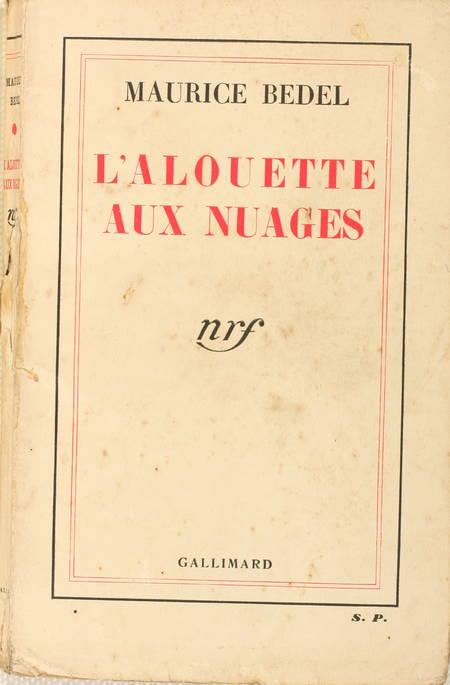 BEDEL - L'alouette aux nuages - 1935 - Eo - Envoi - Photo 1 - livre de bibliophilie