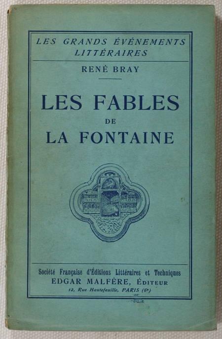 BRAY - Les fables de La Fontaine -1929 - Envoi - Photo 0 - livre de bibliophilie
