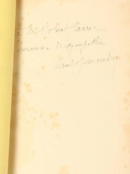 RENAUDIN (Paul). Le maître de Froidmont, livre rare du XXe siècle