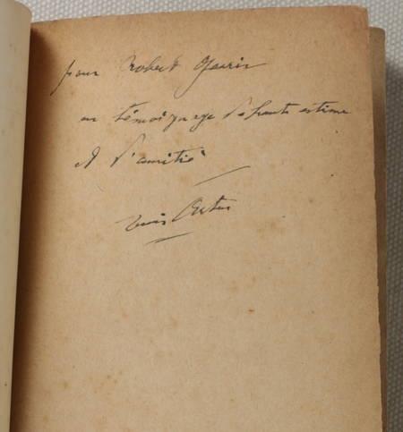ARTUS - Au soir de Port-Royal - 1930 - Envoi - Photo 0 - livre de bibliophilie
