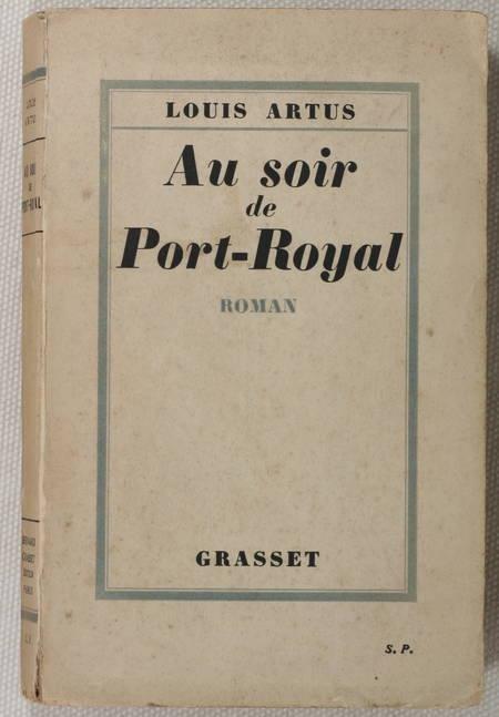 ARTUS - Au soir de Port-Royal - 1930 - Envoi - Photo 1 - livre de bibliophilie
