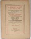[Poésie] PERCEAU - Le Cabinet Secret du Parnasse. François de Malherbe - 1932 - Photo 1, livre rare du XXe siècle