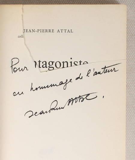 ATTAL - L'Antagoniste. Roman-scénario en cinq épisodes - 1967 - Envoi - Photo 1 - livre moderne