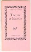 LEDUC (Violette). Thérèse et Isabelle