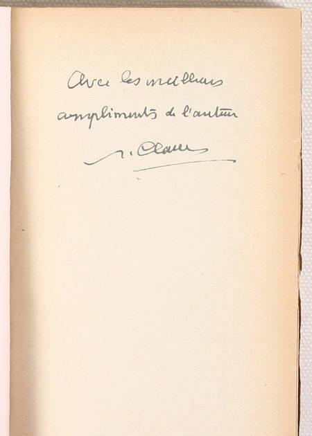[Théâtre] CLAUDEL - Le Pain Dur - 1928 - Envoi de l'auteur - Photo 0 - livre moderne