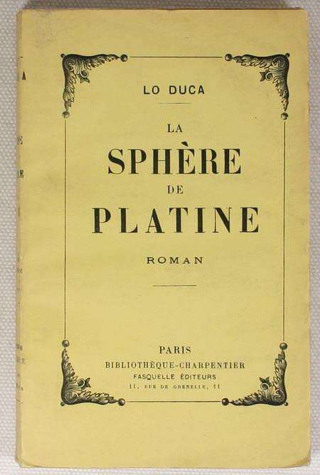 [Science fiction] LO DUCA - La sphère de platine - 1945 - Photo 1 - livre rare