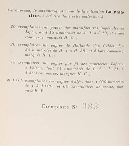 BERNANOS - Nouvelle Histoire de Mouchette - 1937 - EO numérotée - Photo 0 - livre rare