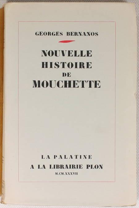 BERNANOS - Nouvelle Histoire de Mouchette - 1937 - EO numérotée - Photo 1 - livre rare