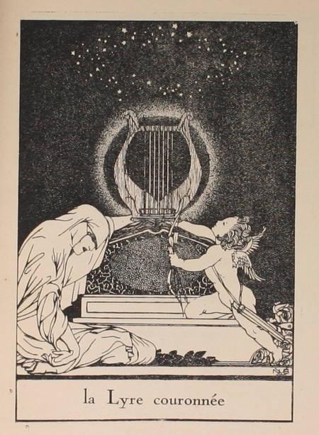 GUINLE (Alexandre). La lyre couronnée. Recueil auquel les poètes de France sont honorés en ving-sept poèmes égaux en nombre au choeur des muses si tu le triples des charités