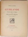 DEREME - Guirlande pour deux vers de Gérard de Nerval. Dessins de Jullien - 1926 - Photo 0 - livre rare