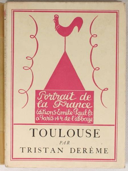 DEREME - Toulouse - 1927 Frontispice gravé par Hermine David / Lafuma - Photo 1 - livre rare