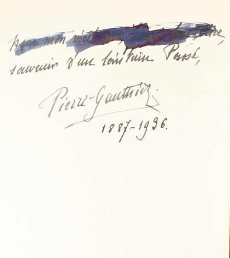 [Paris] PIERRE-GAUTHIEZ - Ce vieux quartier latin - 1936 - 1/200 num. - Envoi - Photo 1 - livre du XXe siècle