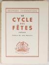 CHENNEVIERE - Le cycle des fêtes. Poèmes -1940 - 1/75 sur vélin - Photo 0, livre rare du XXe siècle