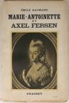 [Histoire] BAUMANN - Marie-Antoinette et Axel Fersen - 1931 - S. P. - Envoi - Photo 1, livre rare du XXe siècle