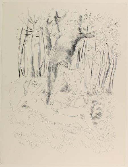 [Curiosa] LAWRENCE - Lady Chatterley - 1956 - Lithographies de Schem - Photo 1 - livre rare