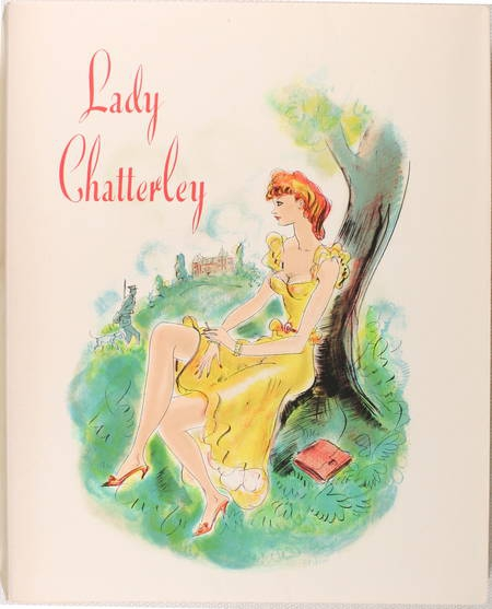 [Curiosa] LAWRENCE - Lady Chatterley - 1956 - Lithographies de Schem - Photo 2 - livre rare
