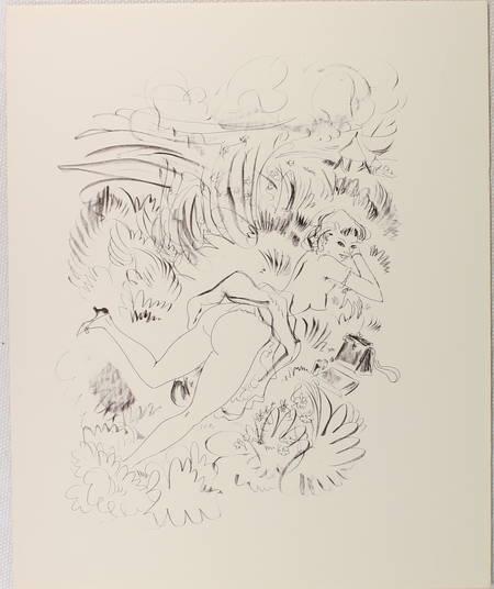 [Curiosa] LAWRENCE - Lady Chatterley - 1956 - Lithographies de Schem - Photo 3 - livre rare