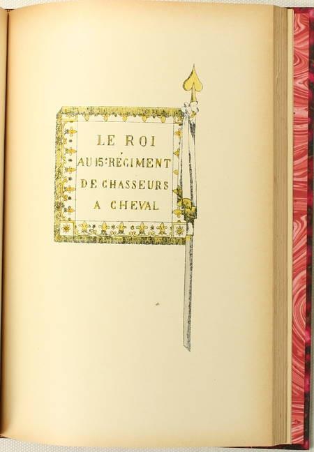 MAGON - Historique du 15e régiment de chasseurs à cheval - 1895 - Photo 1, livre rare du XIXe siècle