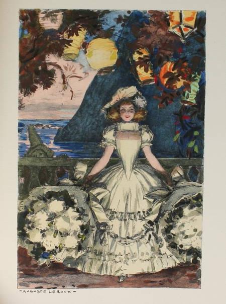 ROSTAND - Romanesques - 2 pierrots - Dernière nuit de Don Juan - 1938 - A LEROUX - Photo 0 - livre de bibliophilie