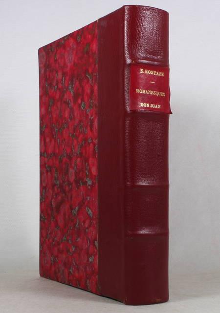 ROSTAND - Romanesques - 2 pierrots - Dernière nuit de Don Juan - 1938 - A LEROUX - Photo 1 - livre de bibliophilie