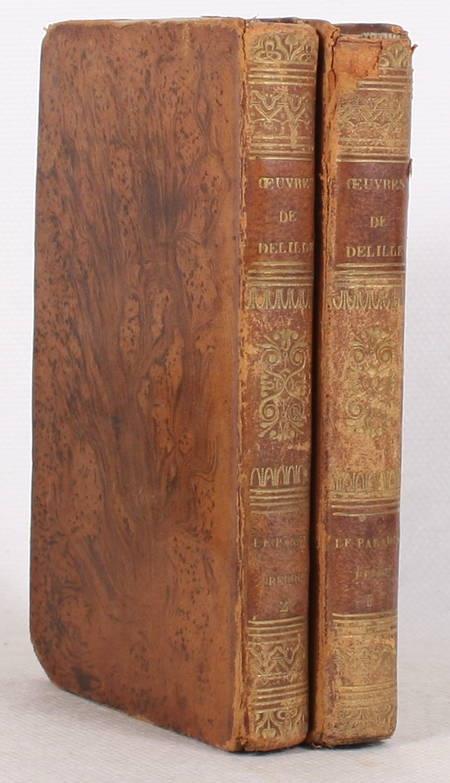 Le paradis perdu de Milton - Traduit en vers français, par J. Delille 1834 2 v. - Photo 1 - livre rare