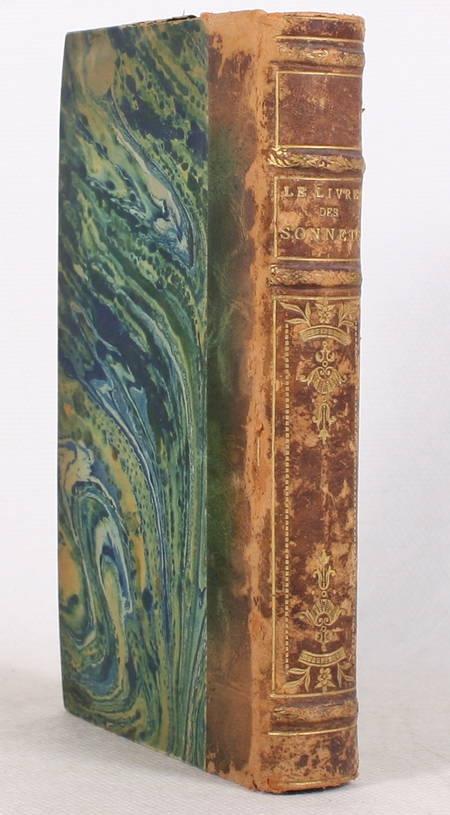 Le livre des sonnets - Quatorze dizains de sonnets choisis - 1875 - Photo 1 - livre de bibliophilie