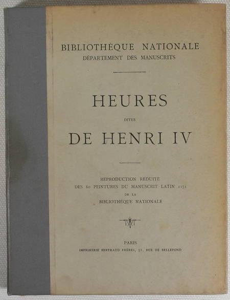 Heures dites de Henri IV. Reproduction des 60 peintures du manuscrit (1908) - Photo 1 - livre rare