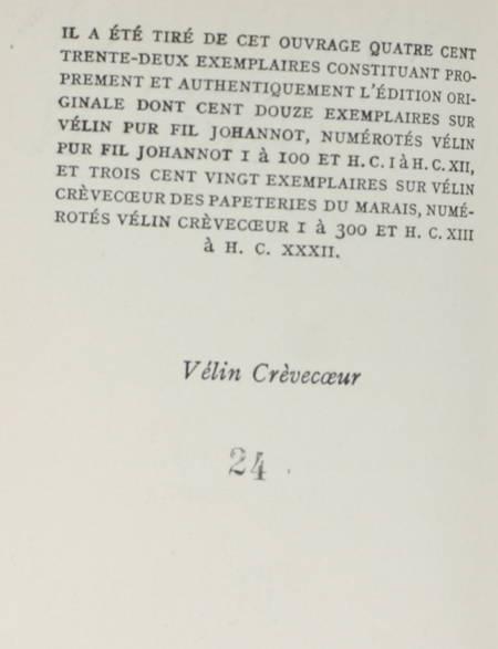 ANOUILH - L invitation au château - 1948 - Illustrations d André Barsacq - Photo 2 - livre de bibliophilie