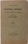 PAPELIER (G.). Exercices de géometrie moderne. Précédés de l'exposé élémentaire des principales théories. Tome VI : Inversion inversion