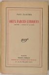 [Théâtre] CLAUDEL Deux farces lyriques. Protée. L ours et la lune 1927 - Lafuma - Photo 1 - livre de bibliophilie