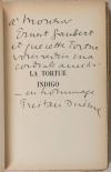 [Littérature] DEREME - La tortue indigo - 1937 - EO - Envoi signé - Photo 0, livre rare du XXe siècle