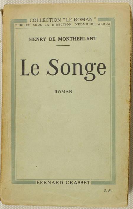 Henri de MONTHERLANT - Le Songe - 1922 - Envoi - Photo 1 - livre du XXe siècle